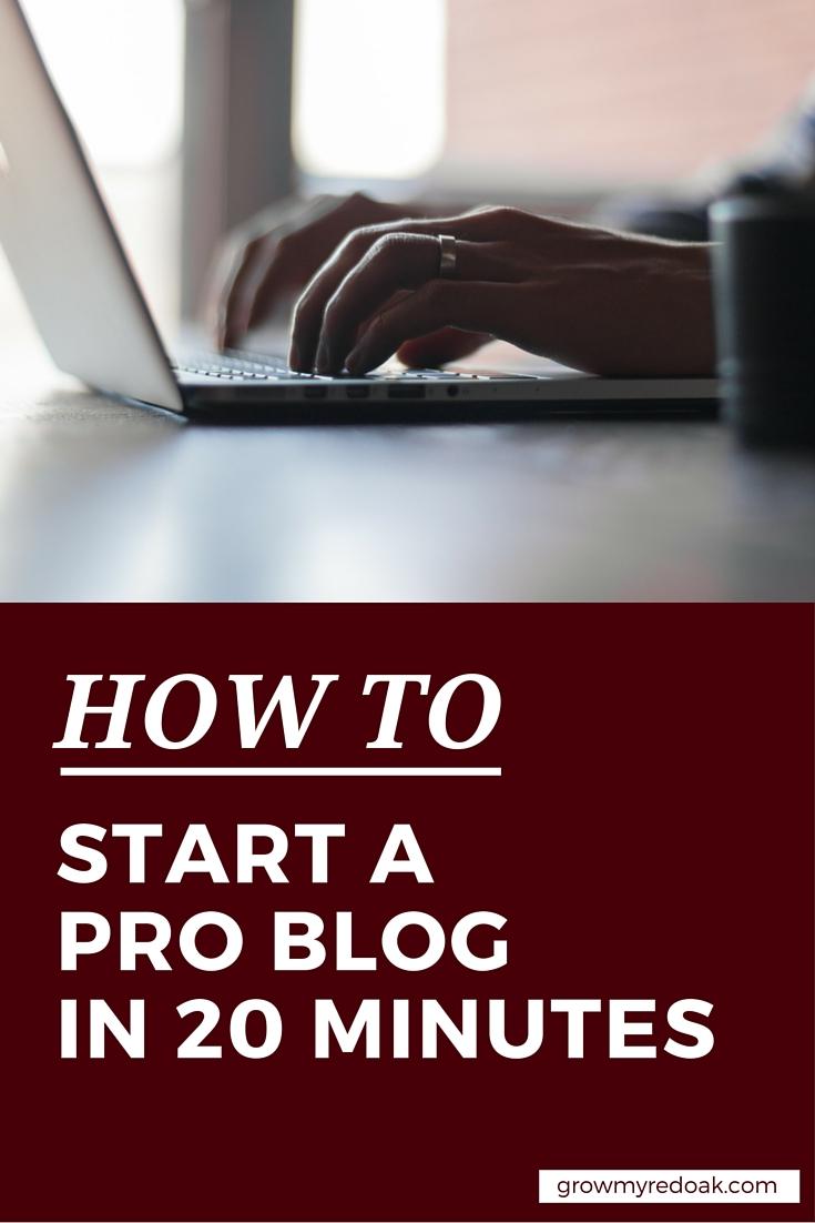 how_to_start_wordpress_blog pinterest