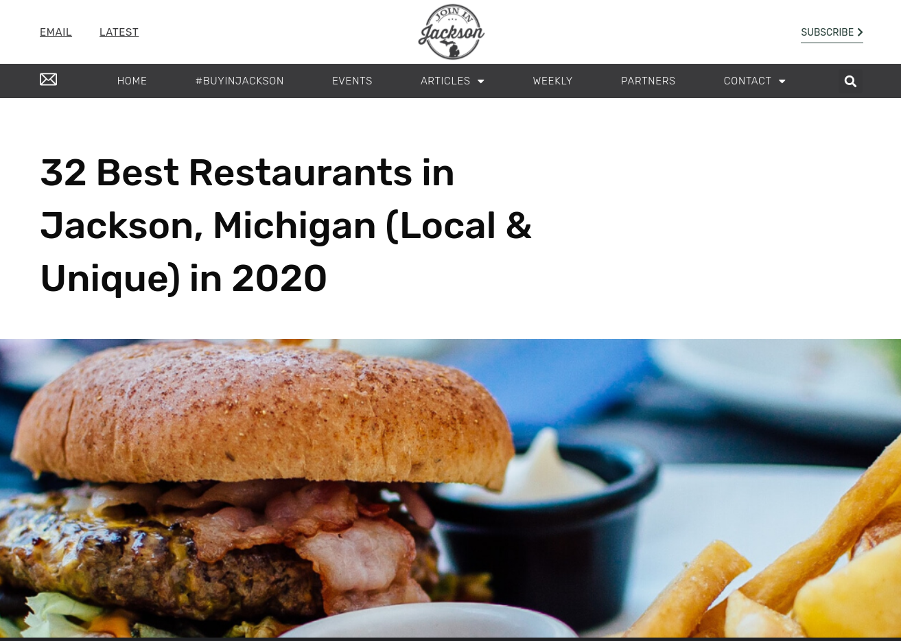 best restaurants in Jackson Michigan