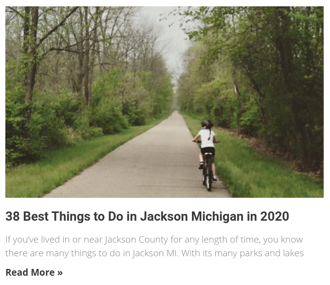 things to do in Jackson Michigan